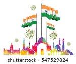 vector illustration .den the... | Shutterstock .eps vector #547529824