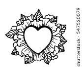 valentine's day  heart in... | Shutterstock .eps vector #547530079