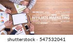 Small photo of Business Concept: Affiliate Marketing Word Cloud