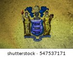 Small photo of graphic american state grunge flag of new jersey
