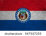 Small photo of graphic american state grunge flag of missouri