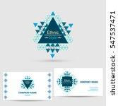 vector icon design logo element ... | Shutterstock .eps vector #547537471