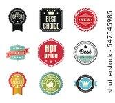 best choice guaranteed seller...   Shutterstock .eps vector #547545985