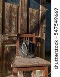 Battered Old Hat Damaged By...