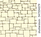 seamless stone brick wall... | Shutterstock .eps vector #547554379