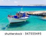 Old Fishing Boat  Paros