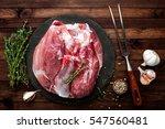 raw meat | Shutterstock . vector #547560481