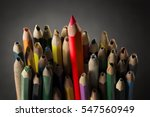pencil inspire concept  sharp... | Shutterstock . vector #547560949