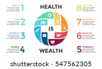 vector plus sign infographic ... | Shutterstock .eps vector #547562305
