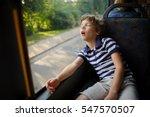 the little boy has fallen... | Shutterstock . vector #547570507