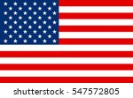 united states flag  vector | Shutterstock .eps vector #547572805