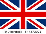 flag of the united kingdom... | Shutterstock .eps vector #547573021