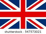 flag of the united kingdom... | Shutterstock .eps vector #547573021