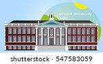 harvard university. vector... | Shutterstock .eps vector #547583059