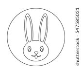 rabbit  icon | Shutterstock .eps vector #547585021
