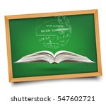 science. mathematical equations ... | Shutterstock .eps vector #547602721