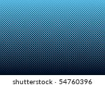 seamless halftone dot pattern... | Shutterstock .eps vector #54760396