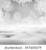 winter background. winter... | Shutterstock . vector #547605679