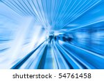 Abstract motion - stock photo