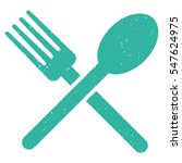 fork and spoon grainy textured...   Shutterstock .eps vector #547624975