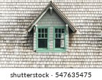 Wood Roof Texture Background...