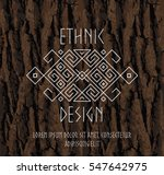 ethnic geometric pattern in... | Shutterstock .eps vector #547642975