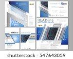 social media posts set.... | Shutterstock .eps vector #547643059