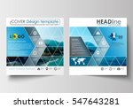 business templates for square... | Shutterstock .eps vector #547643281