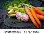 carrots  celery and other...   Shutterstock . vector #547645051