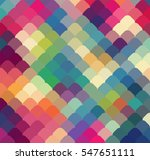 Abstract Colorful Geometric...