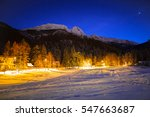 Stra Yska Valley And Giewont In ...