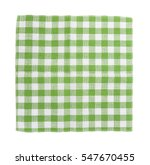 green and white checkered dish...   Shutterstock . vector #547670455