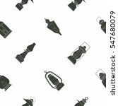seamless pattern with lanterns... | Shutterstock .eps vector #547680079