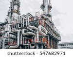 industrial zone the equipment... | Shutterstock . vector #547682971