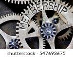 macro photo of tooth wheel...   Shutterstock . vector #547693675
