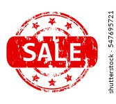 rubber stamp with the word sale ...   Shutterstock .eps vector #547695721