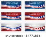 americana banners | Shutterstock .eps vector #54771886