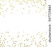 gold glitter background polka... | Shutterstock .eps vector #547725865
