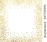 gold glitter background polka... | Shutterstock .eps vector #547729591