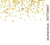 gold glitter background polka... | Shutterstock .eps vector #547734847