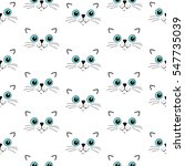 vector seamless pattern with... | Shutterstock .eps vector #547735039