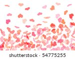 hearts of different colors... | Shutterstock . vector #54775255