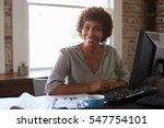 portrait of businesswoman... | Shutterstock . vector #547754101