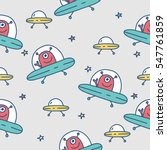 seamless vector pattern with... | Shutterstock .eps vector #547761859