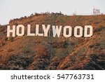 hollywood california   december ... | Shutterstock . vector #547763731
