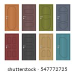 interior of colored entrance... | Shutterstock .eps vector #547772725
