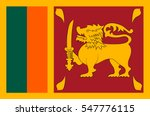 flag of sri lanka officially...