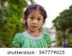 asian little girl | Shutterstock . vector #547779025