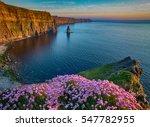 ireland countryside tourist...   Shutterstock . vector #547782955