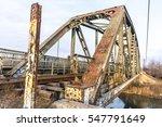 Old Rusty Railroad Bridge